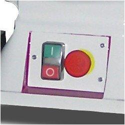 Touret à meuler Optimum SM 300 - 3101303 - Bouton Arrêt Urgence et Interrupteur