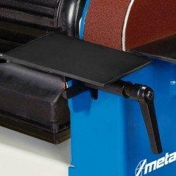 Combiné, ponceuse à bande et lapidaire Metallkraft BTS 51 - 3700051 - Table d'appui orientable