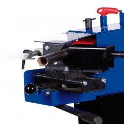 Ponceuse à bande multi-fonctions Metallkraft KRBS 100 - 3705100 - avec cartérisation plexi escamotable