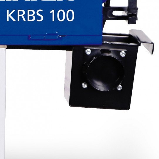 Ponceuse à bande multi-fonctions Metallkraft KRBS 100 - 3705100 - Collecteur de copeaux