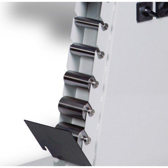 Ponceuse à bande multi-fonctions Metallkraft KRBS 100 - 3705100 -  Support pour galets optionnels