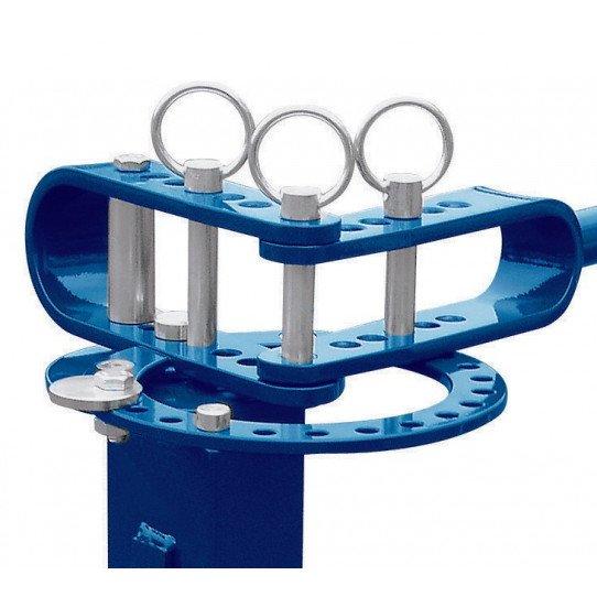 Cintreuse universelle mobile Metallkraft UB 10 - 3776010 - Goupilles de formage en acier traité