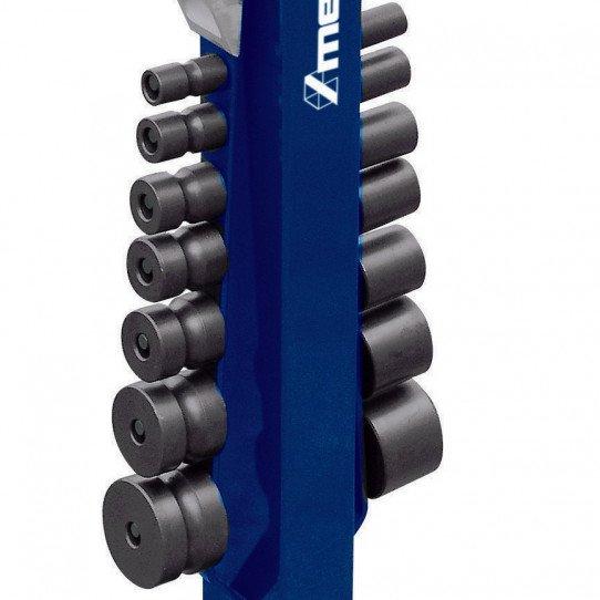 Cintreuse universelle mobile Metallkraft UB 10 - 3776010 - 2 jeux complets de galets fournis de série