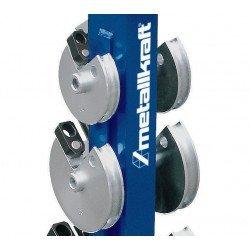 Cintreuse manuelle mobile Metallkraft RB 30 - 3776030 - Rangement ordonné des galets