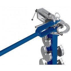 Cintreuse manuelle mobile Metallkraft RB 30 - 3776030 - Exemple de cintrage