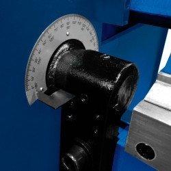 Plieuse semi-motorisée Metallkraft MSBM - 3779030 - Ajustage manuel de l'angle