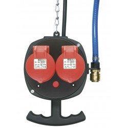 Borne d'énergie Ampel A-EA 2 face arrière - 2100002