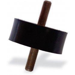 Supports antivibratoires caoutchouc SE 31 – 70 x 38 mm/2 x M10, Avec filetage bilatéral, 1 unité