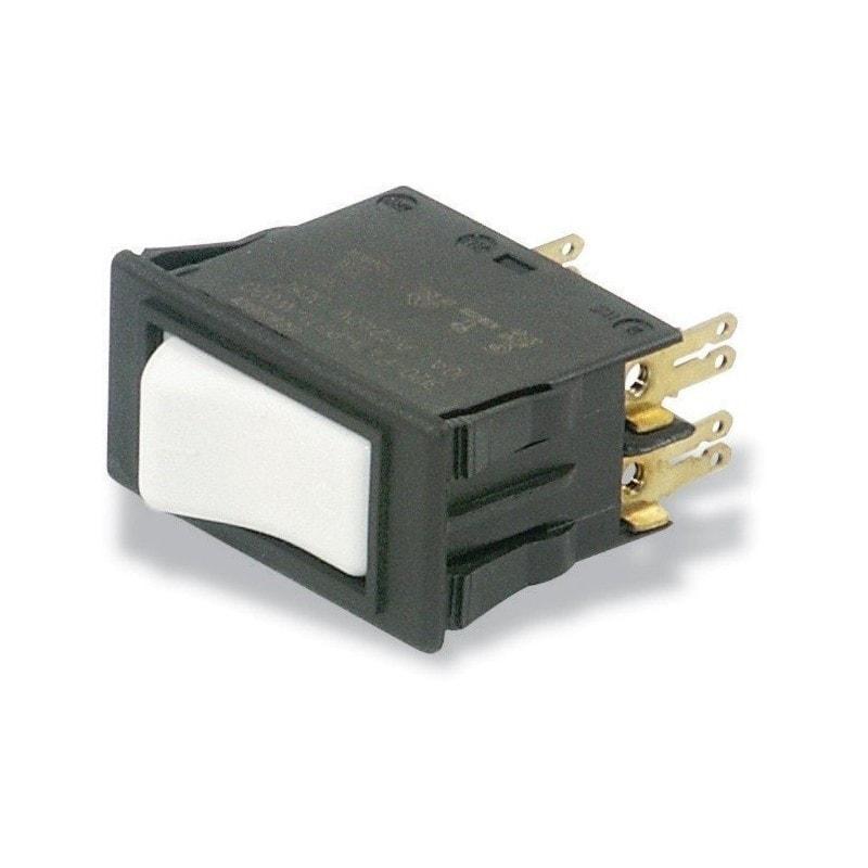 Disjoncteur-contacteur 2 phase 7 Amp.