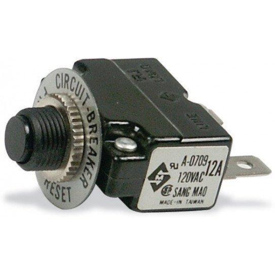 Disjoncteur-contacteur 1 phase 12 Amp.
