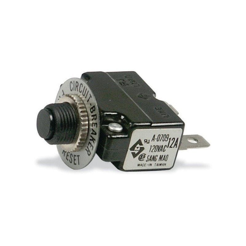 Disjoncteur-contacteur 1 phase 14 Amp.