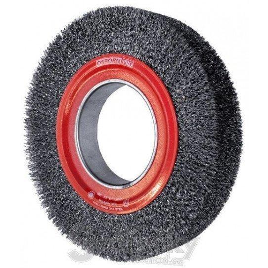 Brosse ronde fils ondulés 250 x 30 mm