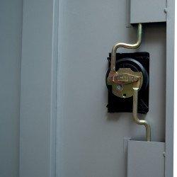 Fermeture centralisé à clé Armoire d'atelier  Uniworks - Largeur 900 mm
