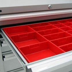 Jeu d'éléments de compartimentage tiroir Uniworks - EDTC723