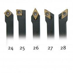 Jeu d'outils 12 mm à plaquettes