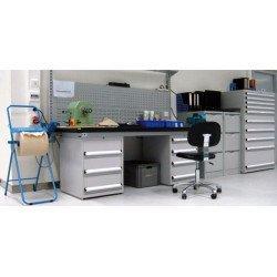 Exemple de modularité pour le mobilier Uniworks