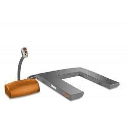 Table de levage électro-hydraulique Unicraft SHT 1001 U en position basse - 6153101