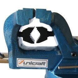 Mors cylindriques de l'etau rotatif 100 mm Unicraf- 6350100