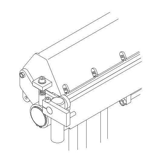 Plieuse manuelle  Metallkraft HSBM 660 N