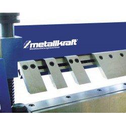 Segments de la plieuse manuelle  Metallkraft FSBM 1020-25 E