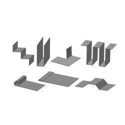 Exemple de réalisation pour la plieuse électromagnétique  Metallkraft MBM 1250