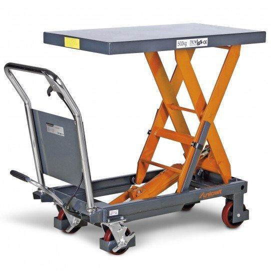Table élévatrice hydraulique Unicraft FHT 500