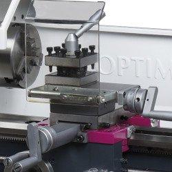 Tourelle 4 positions indéxées du tour à métaux Optimum TU 2004 V - 3420310