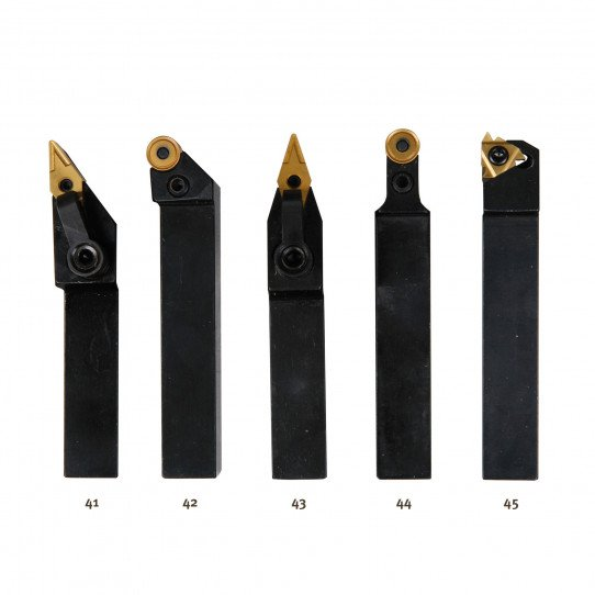 Jeu de 5 outils 16x16 mm à plaquettes