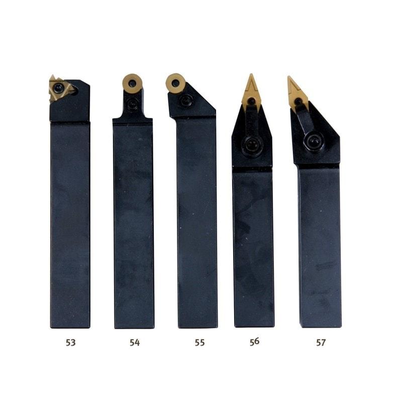 Jeu de 5 outils 20x20 mm à plaquettes