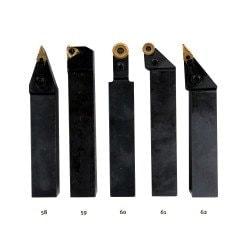 Jeu de 5 outils 25x25 mm à plaquettes