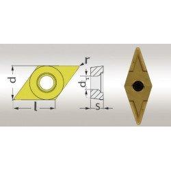 5 Plaquettes de rechanges revêtues Titane V/35°