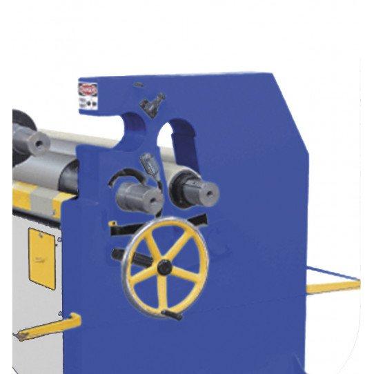 Rouleau supérieur escamotable pour la rouleuse asymétrique  Metallkraft RBM 1550-60 E Pro - 3813314