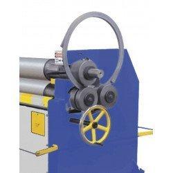 Réalisation avec galets optionnels pour la rouleuse asymétrique  Metallkraft RBM 2550-40 E Pro - 3813317