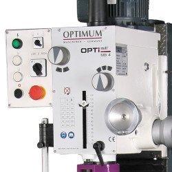 Panneau de commande de la fraiseuse Optimum MB4 - 3338450