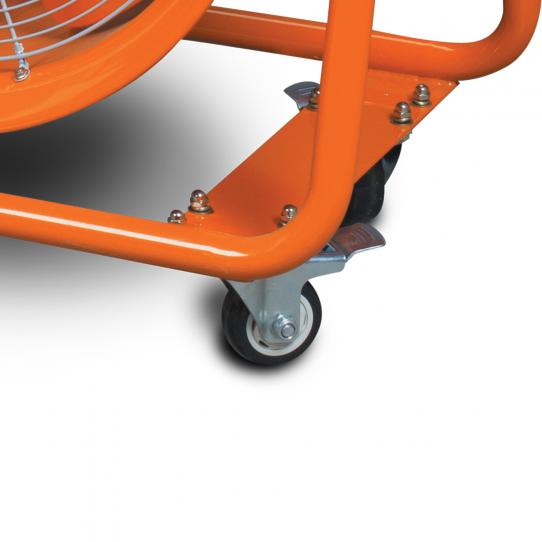 Ventilateur/extracteur  mobile MV60 - Roues en PVC