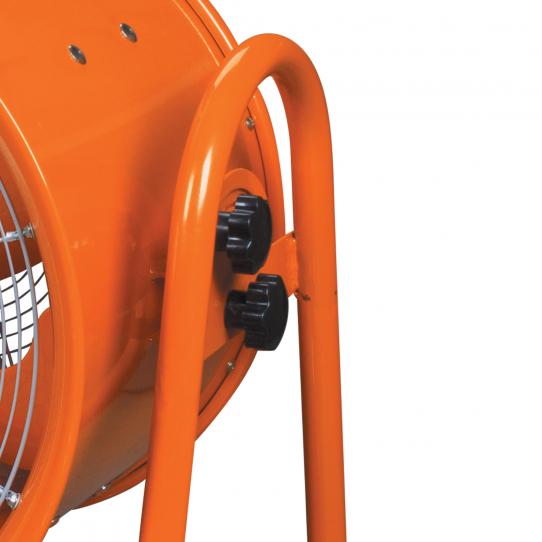 Ventilateur/extracteur  mobile MV60 - Réglage de la direction d'air