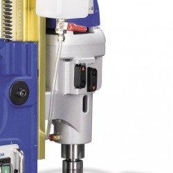 4 vitesses de rotation pour la perceuse magnétique  Metallkraft MB 1204 - 3861204