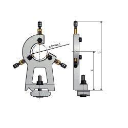 Lunettes pour tours  Optimum D 240 / D 250 - 3441315