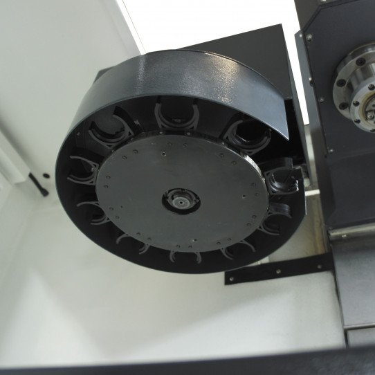 Changeur d'outils de la fraiseuse à commande numérique  Optimum F 80 - 3501080