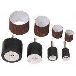 Set de 4 rouleaux  et 4 manchons abrasifs - 2403152