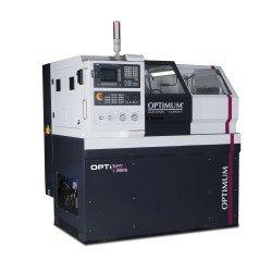 Tour à métaux à commande numérique Optimum L 28 CN