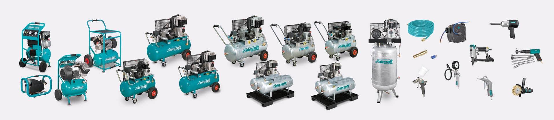 Machines-outils pour l'air comprimé