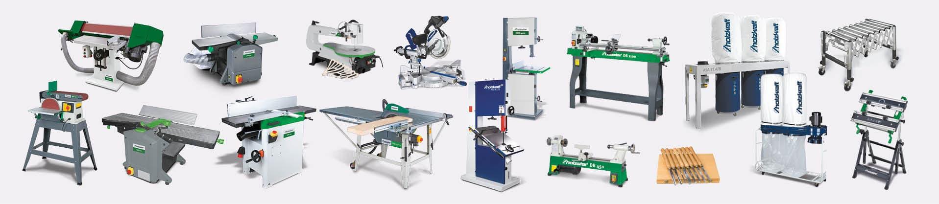 Gamme de machines-outils pour le bois