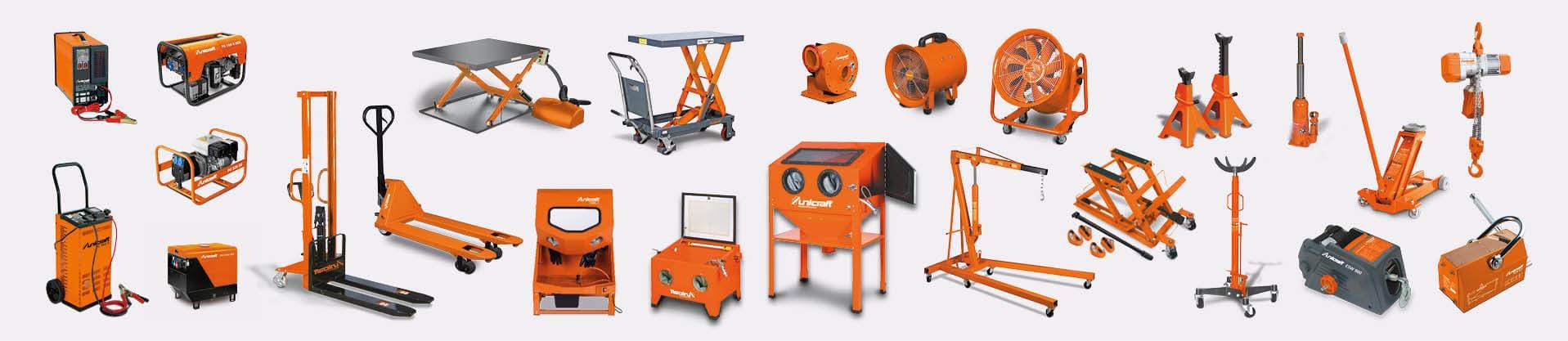 Equipement ateliers - Levage et manutention - Automotive