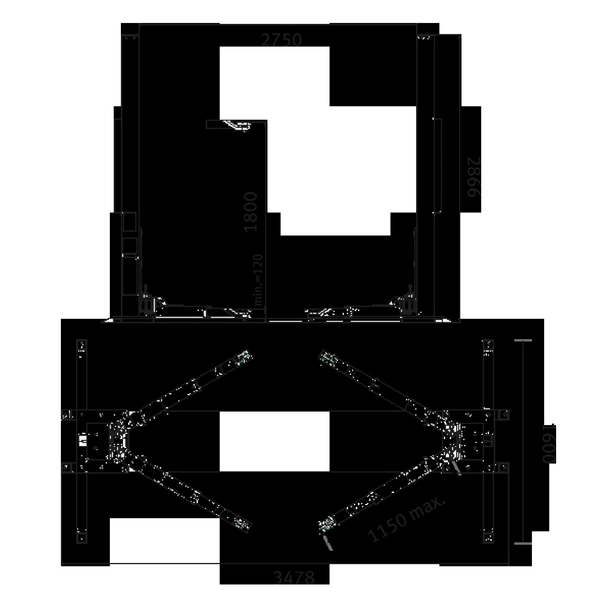 pont l vateur colonnes garage bonnes affaires optimachines. Black Bedroom Furniture Sets. Home Design Ideas