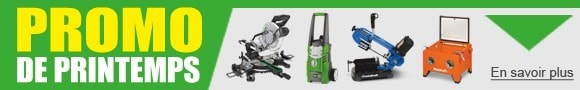 Promotions machine-outils