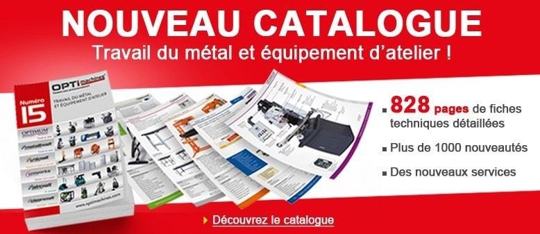 """Découvrez le nouveau catalogue """"Travail du métal et équipement d'atelier"""" !"""